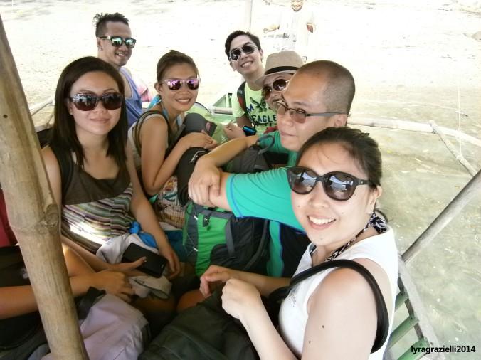 The happy travelers
