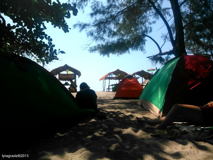 In the thick of tent city